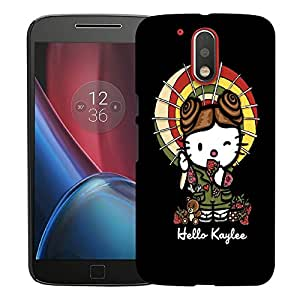 Snoogg Hello Kaylee Designer Protective Back Case Cover For MOTOROLA G4 / G4 PLUS