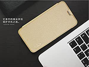 CASECART Ledream Series Ultra Thin Soft PU Leather Flip Cover Case For Letv Le 2 - GOLD …