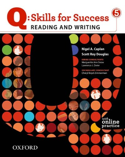 Q: Skills for Success 5 Reading & Writing Student...