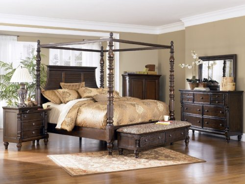 Discount Canopy Beds 6973 front