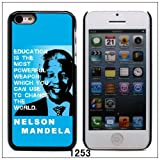 South Africa Freedom Fighter Nelson Mandela Hard Case Cover for Apple iPhone 5C