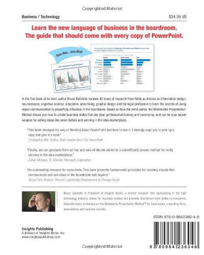 libro speaking powerpoint the new language of business di