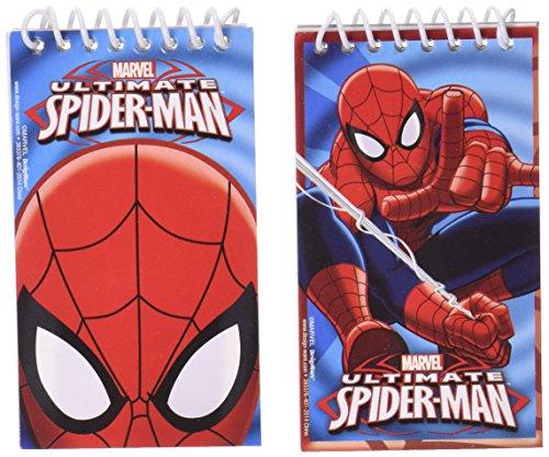 12 Block-notes Spiderman