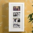 SEI Photo Display Wall-Mount Jewelry Armoire, White