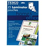 Home and Office A4 laminator pouches 25 pack
