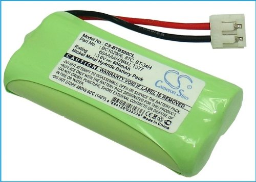 CS Akku 600mAh / 1.44Wh 2.4V ersetzt