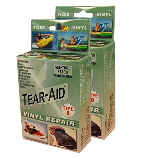 Tear-Aid Vinyl Repair Kit, Green Box Type B (2 pack) (3 Hole Puncture compare prices)