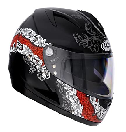 Lazer 1202811317XS breva 'r-swan-noir/rouge/blanc-taille xS