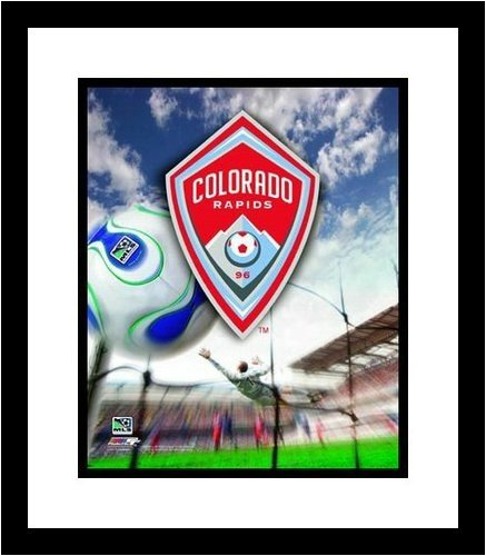 Colorado Rapids MLS Soccer Team Logo Framed 8x10 Photograph