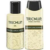 Trichup Long Hair Care Or Hair Growth Kit (Healthy Long & Strong Oil (200ml X 2), Healthy Long & Strong Shampoo...