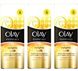 3 x Olay Essentials Complete Care Touch of Foundation - Medium SPF 15 50 ml (3 packs)
