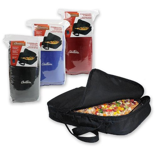 "Casserole Carrier and Food Warmer - Portable Travel Casserole Tote (Holds up to 11""x17"" Casserole - Keeps warm up to one hour) - 1"