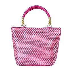 Bagaholics Women's Handbag (Pink,Hks04)