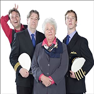 Cabin Pressure, The Complete Series 1 (       UNABRIDGED) by John Finnemore Narrated by Stephanie Cole, Roger Allam, Benedict Cumberbatch