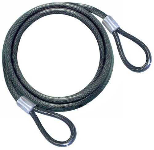 3 8 Steel Cable : Brinks  t coated flexible steel cable