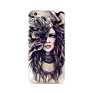 Ebby Crazy Hairy Girl Premium Printed Case For Apple iPhone 6/6s