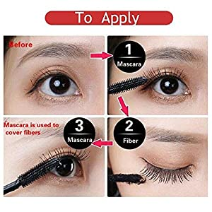 a08aa81d7de DDK 4D Silk Fiber Lash Mascara Iconoclast Eyelash Lengthening Cream Make Up  Waterproof Volumizing Original Mascara Set