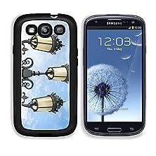 buy Msd Samsung Galaxy S3 Aluminum Plate Bumper Snap Case Vintage Street Lamp Post On Blue Sky Image 24478476