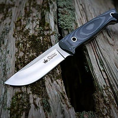 Kizlyar KK0037 Nikki AUS-8 Russian Made Tactical Knife, Satin by CAS HANWEI