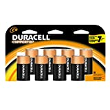 Duracell Coppertop Batteries C, 8-Count