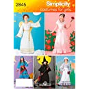 Simplicity Sewing Pattern 2845 Child and Girl Costumes, A (2-4, 6-8, 10-12)