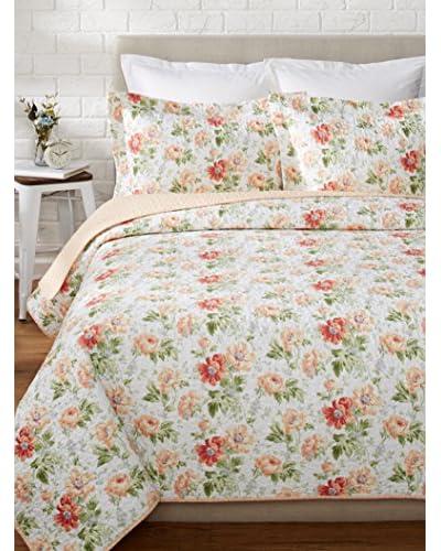 Laura Ashley Peony Garden Quilt Set