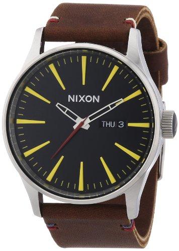 nixon-a105019-00-montre-homme-quartz-analogique-bracelet-cuir-marron