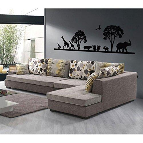 stickers-savane-africaine-violet-l-187cm-x-h-60cm