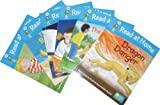 Roderick Hunt and Alex Brychta Oxford Reading Tree - Read at Home Level 3 Pack - 6 Books Collection RRP £23.94 ( Includes The Old Tree Stump, The Real Floppy, The Spaceship, Missing!, The Raft Race and Dragon Danger Featuring Kipper, Chip, Biff, Floopy