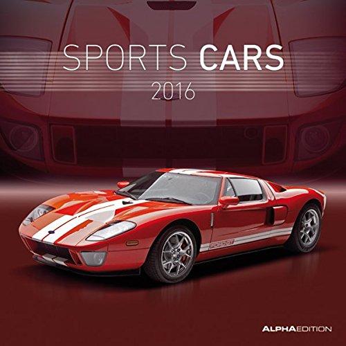 Alpha Edition 160133 Sports Cars Calendario da Muro 2016 30 X 60 cm Aperto PDF