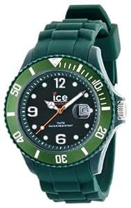 ICE-Watch - Montre Mixte - Quartz Analogique - Ice-Shadow - Forest Green - Big - Cadran Vert - Bracelet Silicone Vert - SW.FOR.B.S.12