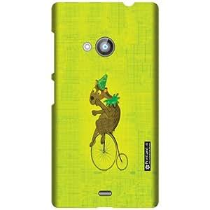 Printland Designer Back Cover For Nokia Lumia 535 - Blue Cases Cover
