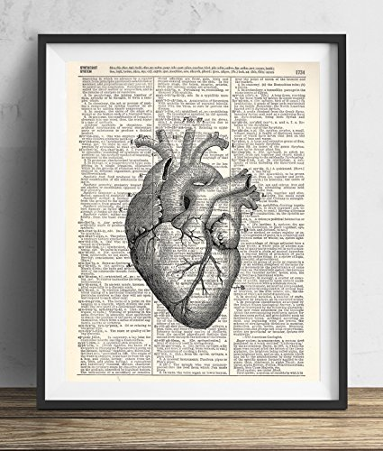 anatomical-heart-vintage-upcycled-dictionary-art-print-8x10
