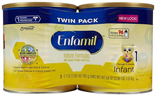buy Enfamil Infant Baby Formula - Powder - 27 oz - 4 pk for sale