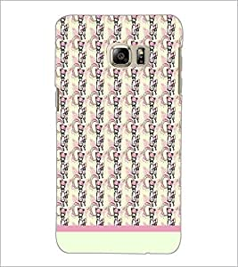 PrintDhaba Girl Pattern D-1920 Back Case Cover for SAMSUNG GALAXY NOTE 5 (Multi-Coloured)