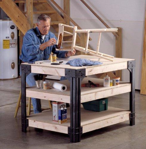 Workbench Shelving Storage System Cabinet Home Craftsman
