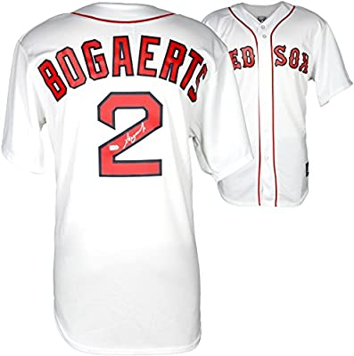 Xander Bogaerts Boston Red Sox Autographed Replica White Jersey - Fanatics Authentic Certified - Autographed MLB Jerseys