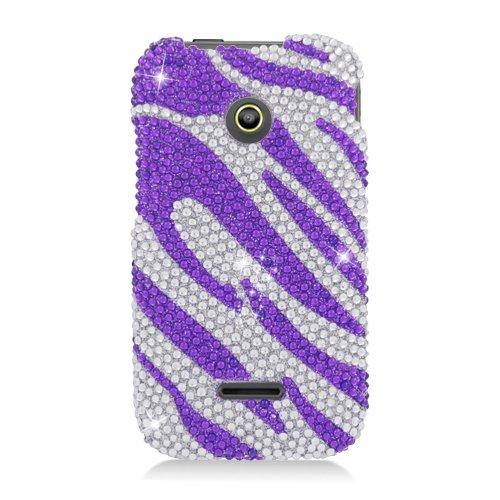 Hw Prism Ii/U8686 Cs Diamond Cover Purple Zebra 326