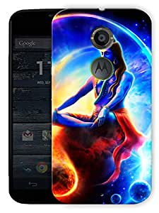 """Shiva The Almighty God Printed Designer Mobile Back Cover For """"Motorola Moto X2"""" By Humor Gang (3D, Matte Finish, Premium Quality, Protective Snap On Slim Hard Phone Case, Multi Color)"""