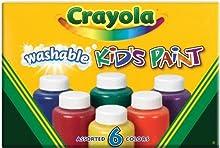 Comprar Crayola - Pintura lavable para niños (6 botes)