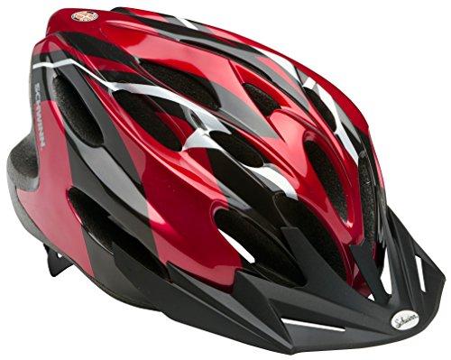 Schwinn SW77496-2 Merge Adult Helmet, Black/Red