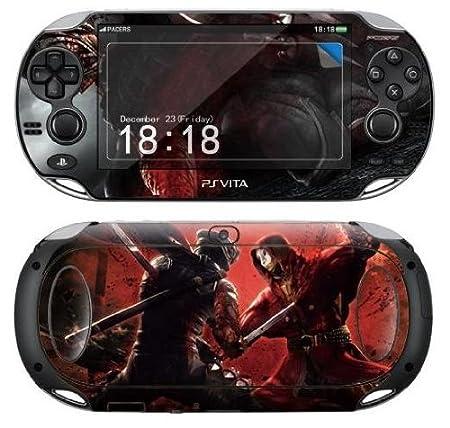 Sony PS Vita NINJA GAIDEN Protective Vinyl Skin Decal Set