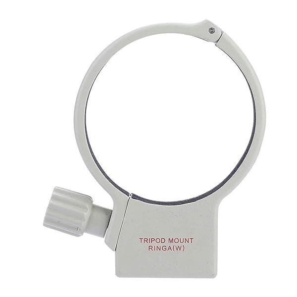Yuehuam Lens Tripod Mount Ring Lens Collar Support Holder Bracket Aluminum Alloy Camera Lens Tripod Mount Collar Ring for 70-200mm F4//F4L is USM