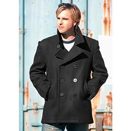 Mil-Tec US Navy Pea Coat Black size M