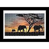 Jigsaw 1000 pieces Puzzle - Elephant by Lisa Loft