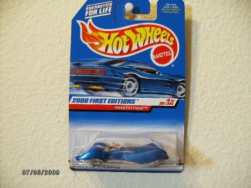 Hot Wheels Phantastique 2000 First Edition #9 of 36-tan Interior - 1