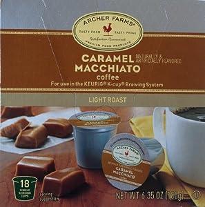 ARCHER FARMS 18 Single Servings - 2 Pack (Caramel Macchiato) by Archer Farms