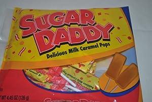 Sugar Daddy Delicious Milk Caramel Pops Lollipops 3 Pack