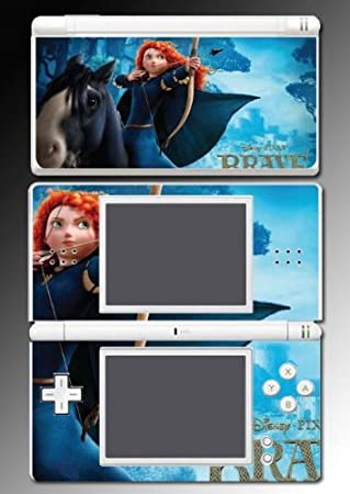 Brave Merida Bear Bow Archer Scotland Video Game Vinyl Decal Skin Protector Cover 3 Nintendo DS Lite
