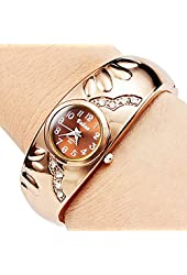 Soleasy Women's Bracelet Style Analog Quartz Metal Watch WTH8022